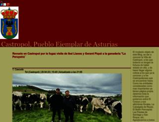 castropol.blogia.com screenshot