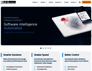 castsoftware.com screenshot