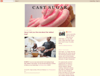 castsugar.blogspot.com screenshot
