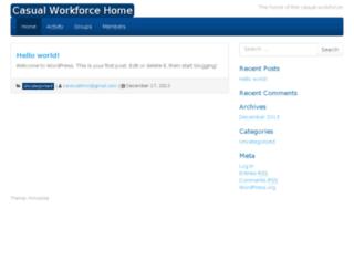 casualworkforce.com screenshot