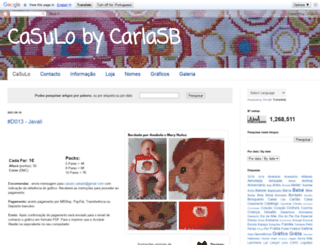 casulo-carlasb.blogspot.com.br screenshot