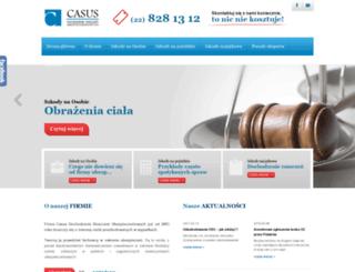 casus.biz screenshot
