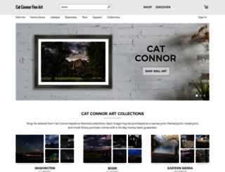 cat-connor.artistwebsites.com screenshot