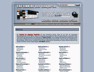 cat-link.de screenshot