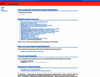 cat-v.org screenshot