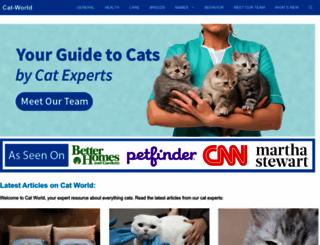cat-world.com.au screenshot