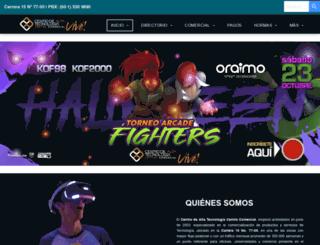 cat.com.co screenshot