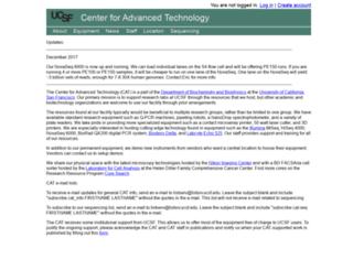 cat.ucsf.edu screenshot