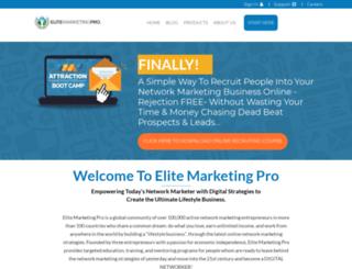 cata100.elitemarketingpro.com screenshot