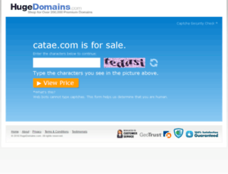 catae.com screenshot