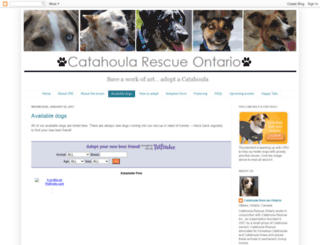 catahoularescueontario-adopt-a-dog.blogspot.ca screenshot