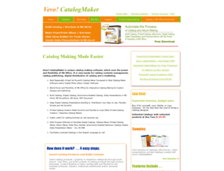 catalog-maker.com screenshot