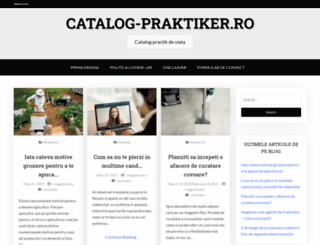 catalog-praktiker.ro screenshot