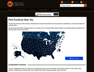 catalog.findyourfurniture.com screenshot