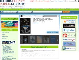 catalog.hcpl.net screenshot