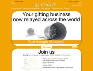 catalog.irelays.com screenshot