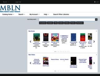 catalog.mbln.org screenshot