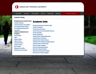 catalog.metu.edu.tr screenshot