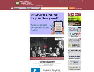 catalog.ncls.org screenshot