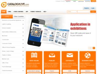 catalogalive.com screenshot