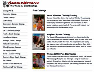 catalogmonster.com screenshot
