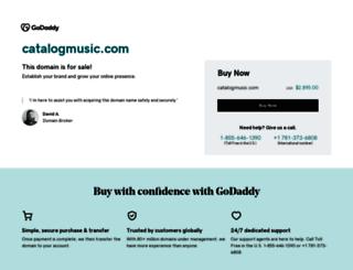 catalogmusic.com screenshot