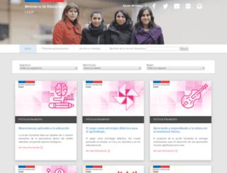 catalogo.cpeip.cl screenshot