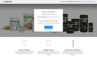 catalogo.herbalife.com screenshot