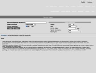 catalogo.up.pt screenshot