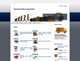 catalogodemonedas.es screenshot