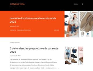 catalogos-revistas.blogspot.com screenshot