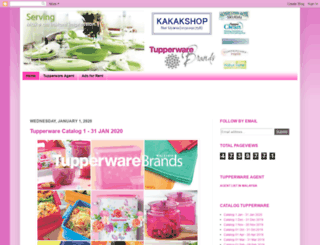 catalogtupperware.blogspot.com screenshot