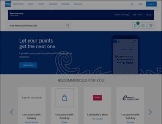 catalogue.membershiprewards.co.uk screenshot