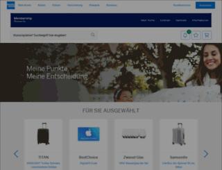 catalogue.membershiprewards.de screenshot