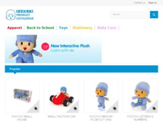 catalogue.zinkia.com screenshot