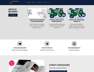 cataloguecentral.com.au screenshot