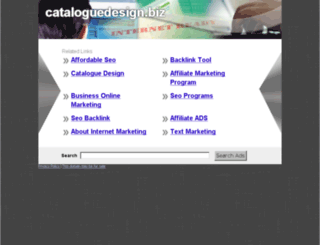 cataloguedesign.biz screenshot