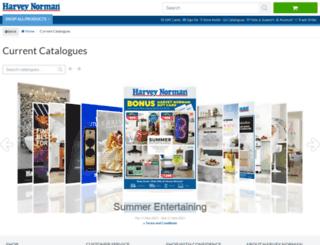 catalogues.harveynorman.com.au screenshot