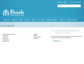 catalogues.prouds.com.au screenshot