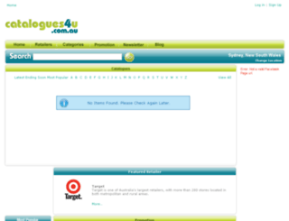 catalogues4u.com.au screenshot