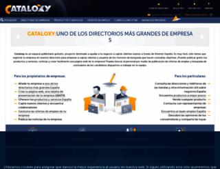 cataloxy.es screenshot