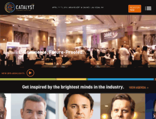 catalyst2016.channeladvisor.com screenshot
