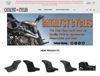 catalystcycles.com screenshot