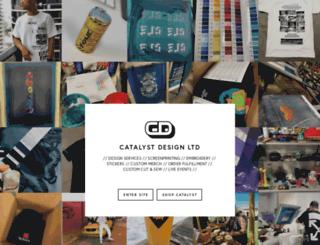 catalystdesignltd.com screenshot