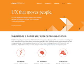 catalystgroupdesign.com screenshot