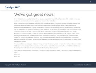 catalystnyc.com screenshot
