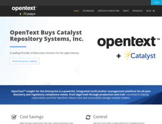catalystsecure.com screenshot