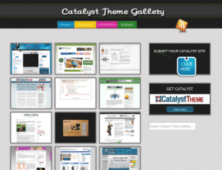 catalystthemegallery.com screenshot