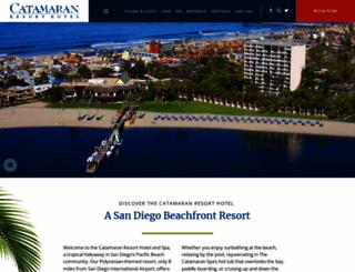 catamaranresort.com screenshot