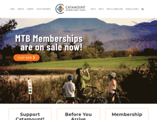 catamountoutdoorfamilycenter.com screenshot
